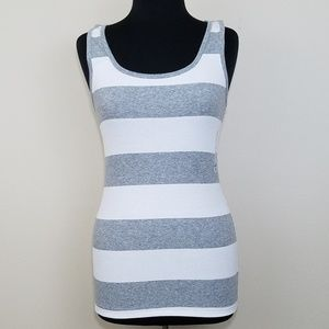 NWT, Old Navy, Ribbed Stripe Tank Top, Large